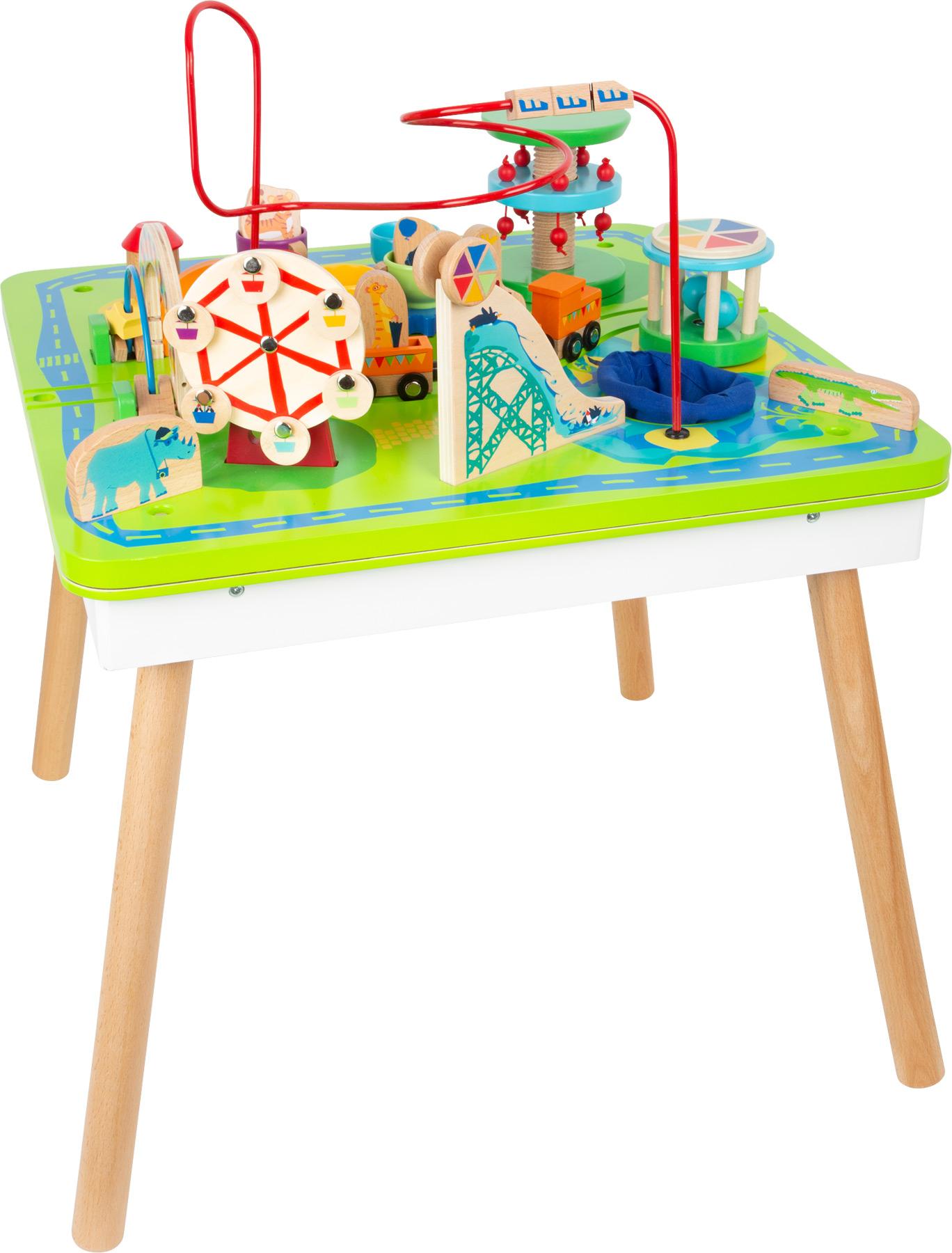 Small Foot Hrací stůl 3 v 1