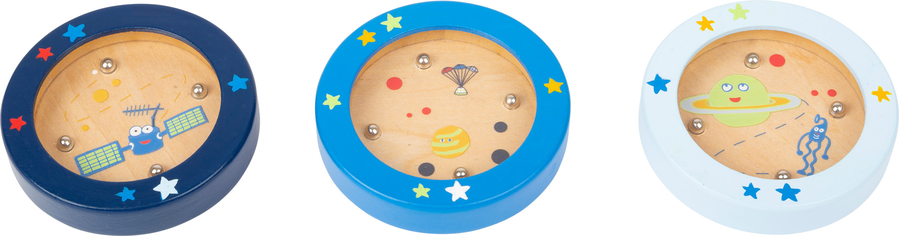 Small Foot Minilabyrint Space 1 ks tmavě modrá