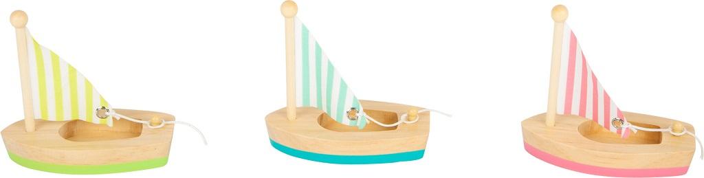 Small Foot Vodní hračka plachetnice 3 ks