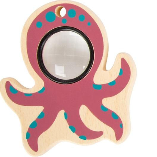 Small Foot Hračka chobotnice růžová