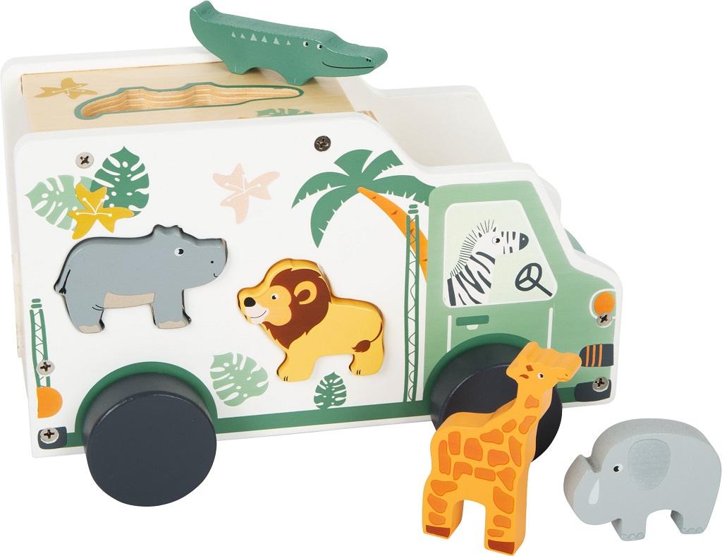 Small Foot Vkládací auto Safari