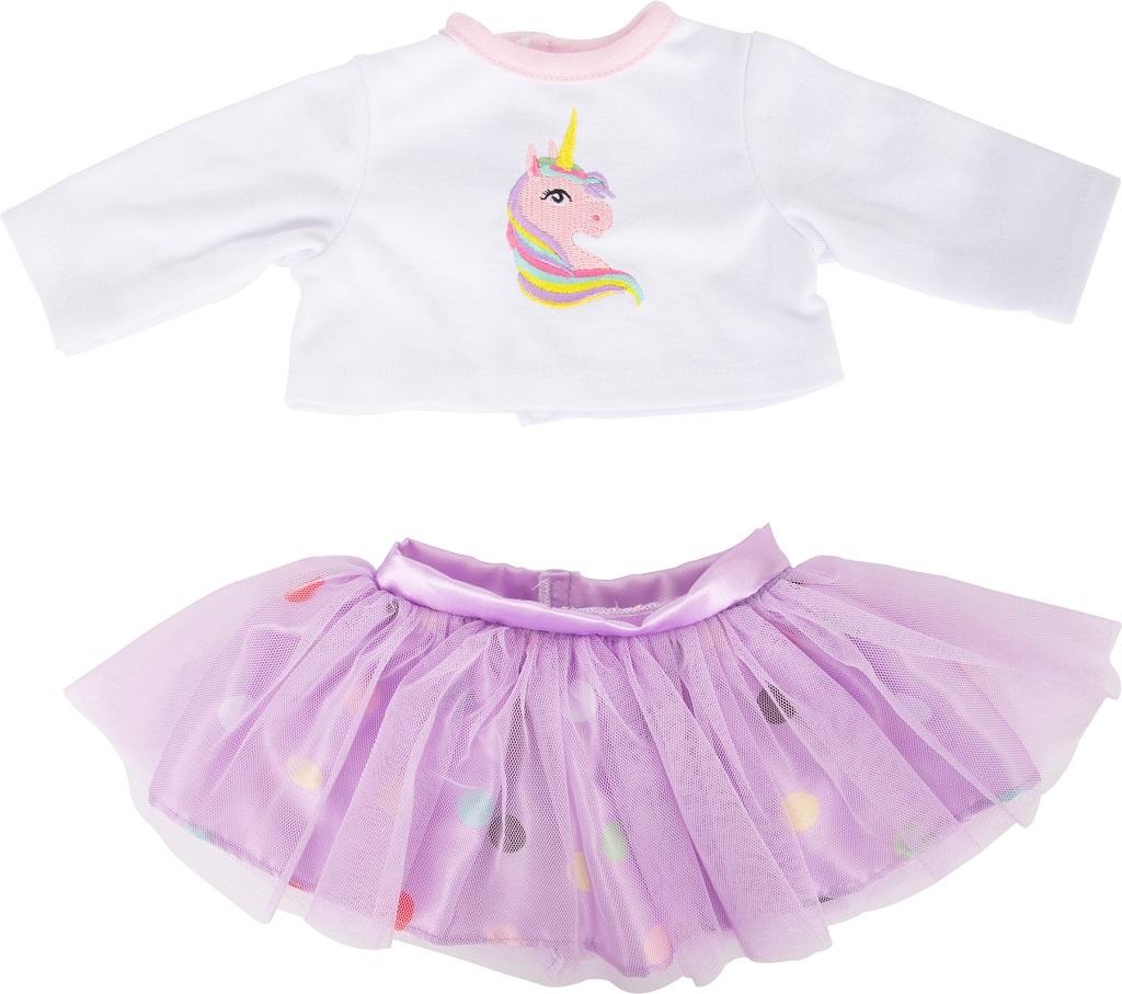 Small Foot Oblečení košile a sukně s koníčkem