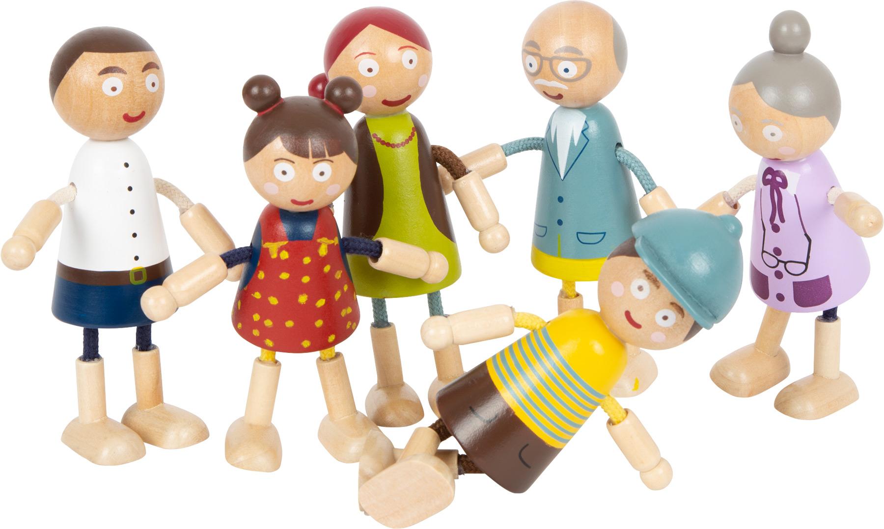Small Foot Dřevěné postavičky Rodina