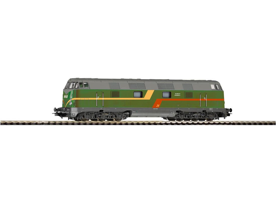Piko Dieselová lokomotiva WAB 24 V - 59586