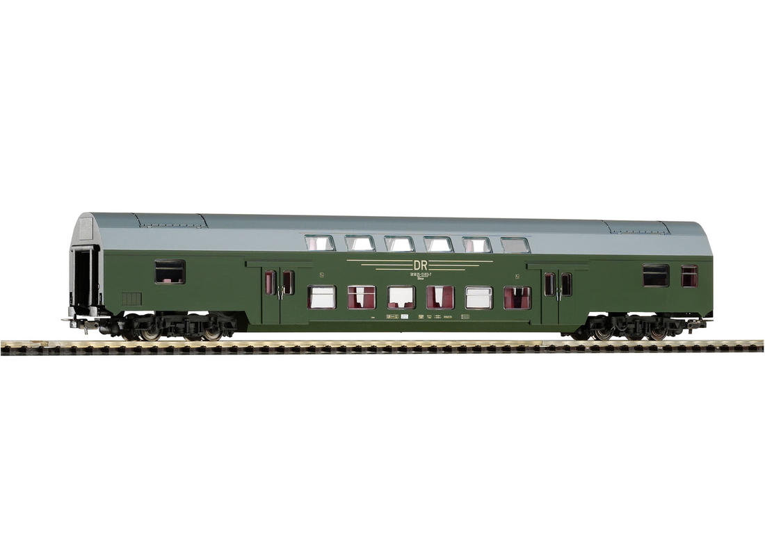 Piko Osobní vagón dvoupatrový DBmue zelený IV - 57684