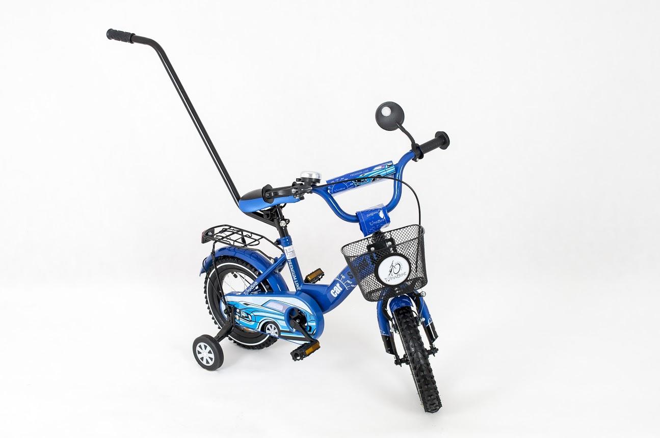Dětské kolo 1201 Car - modré