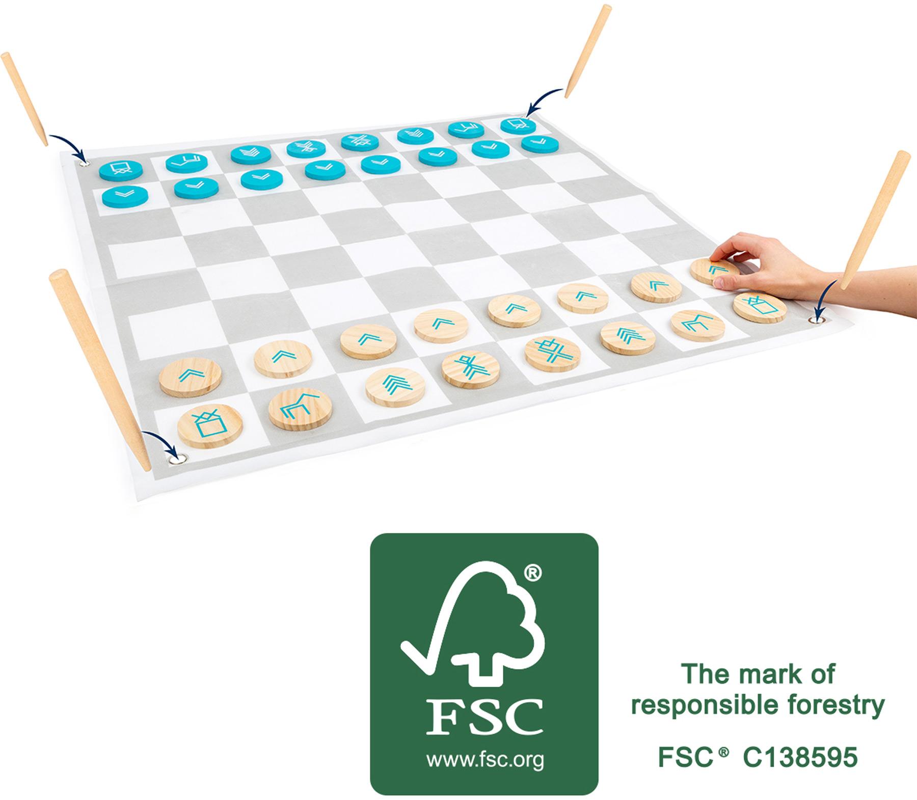 Small Foot Dáma a šachy Active