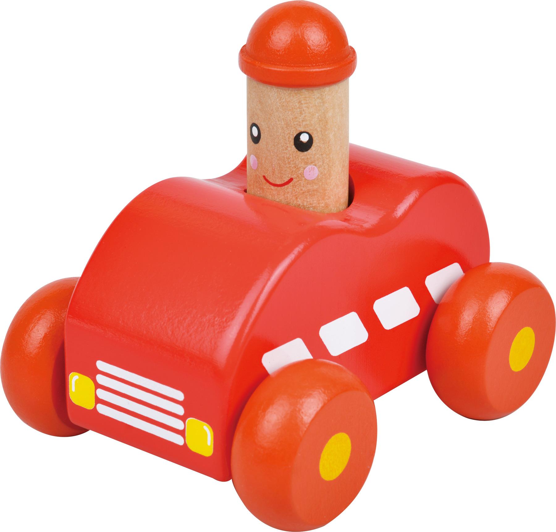 Small Foot Dřevěné autíčko 1ks červené