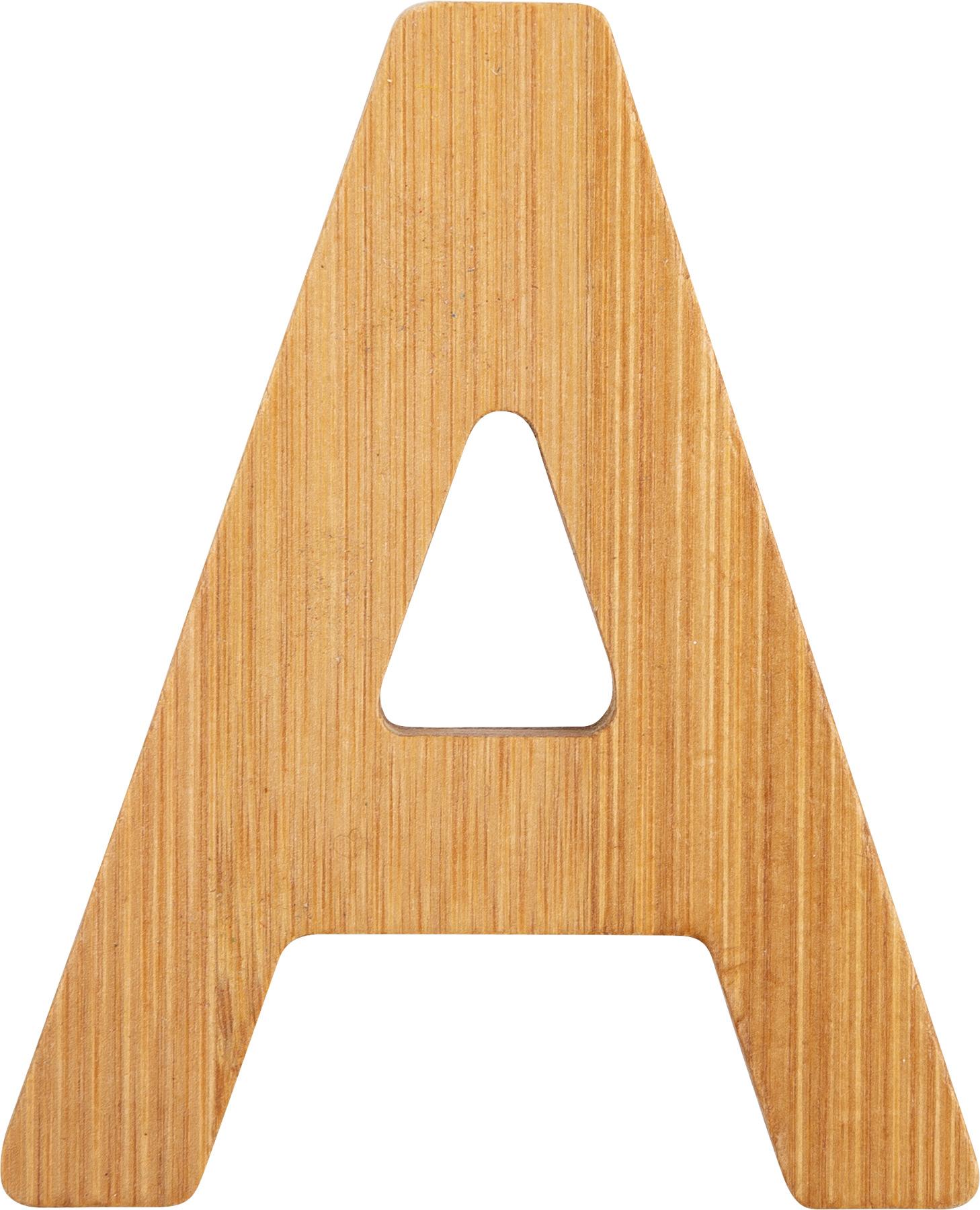 Small Foot Bambusové písmeno A