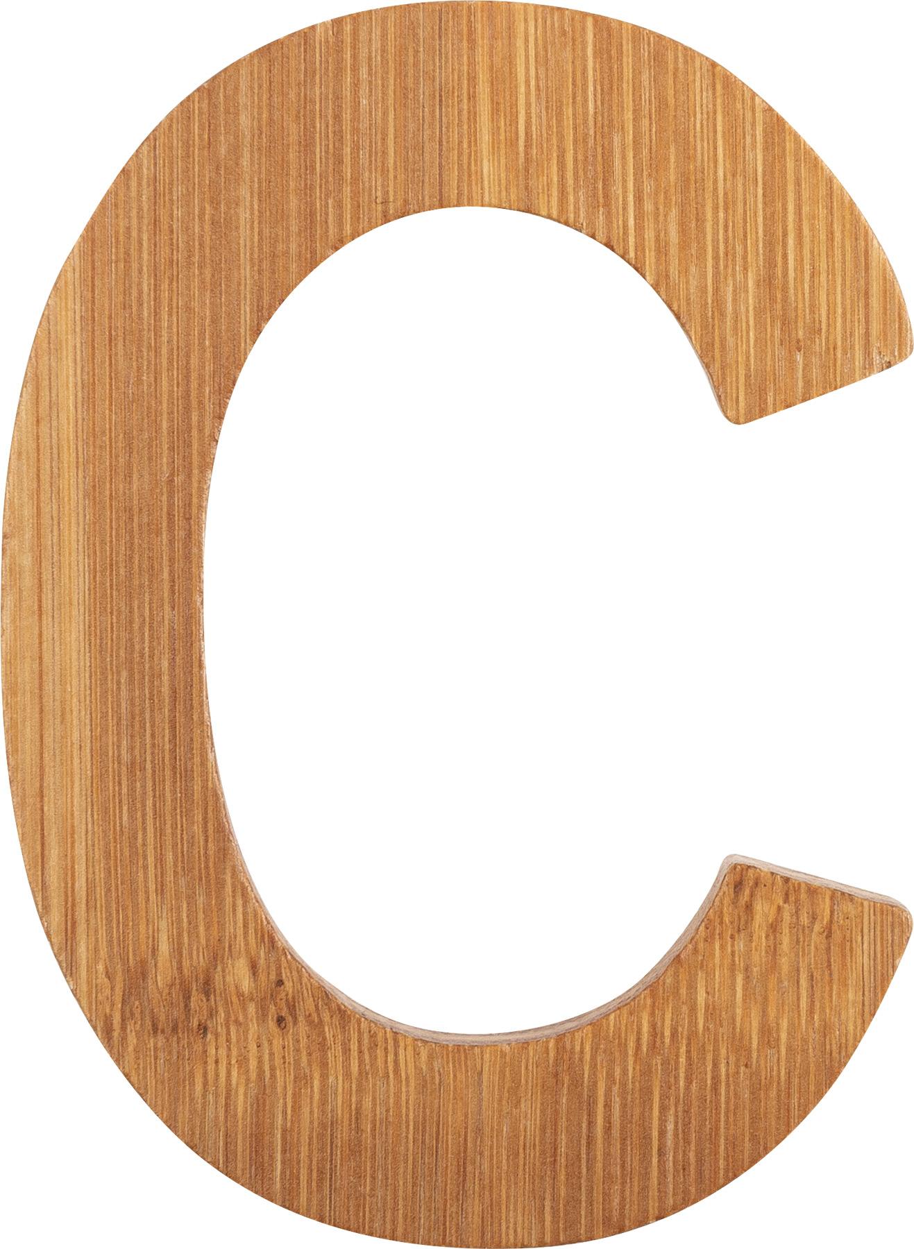 Small Foot Bambusové písmeno C