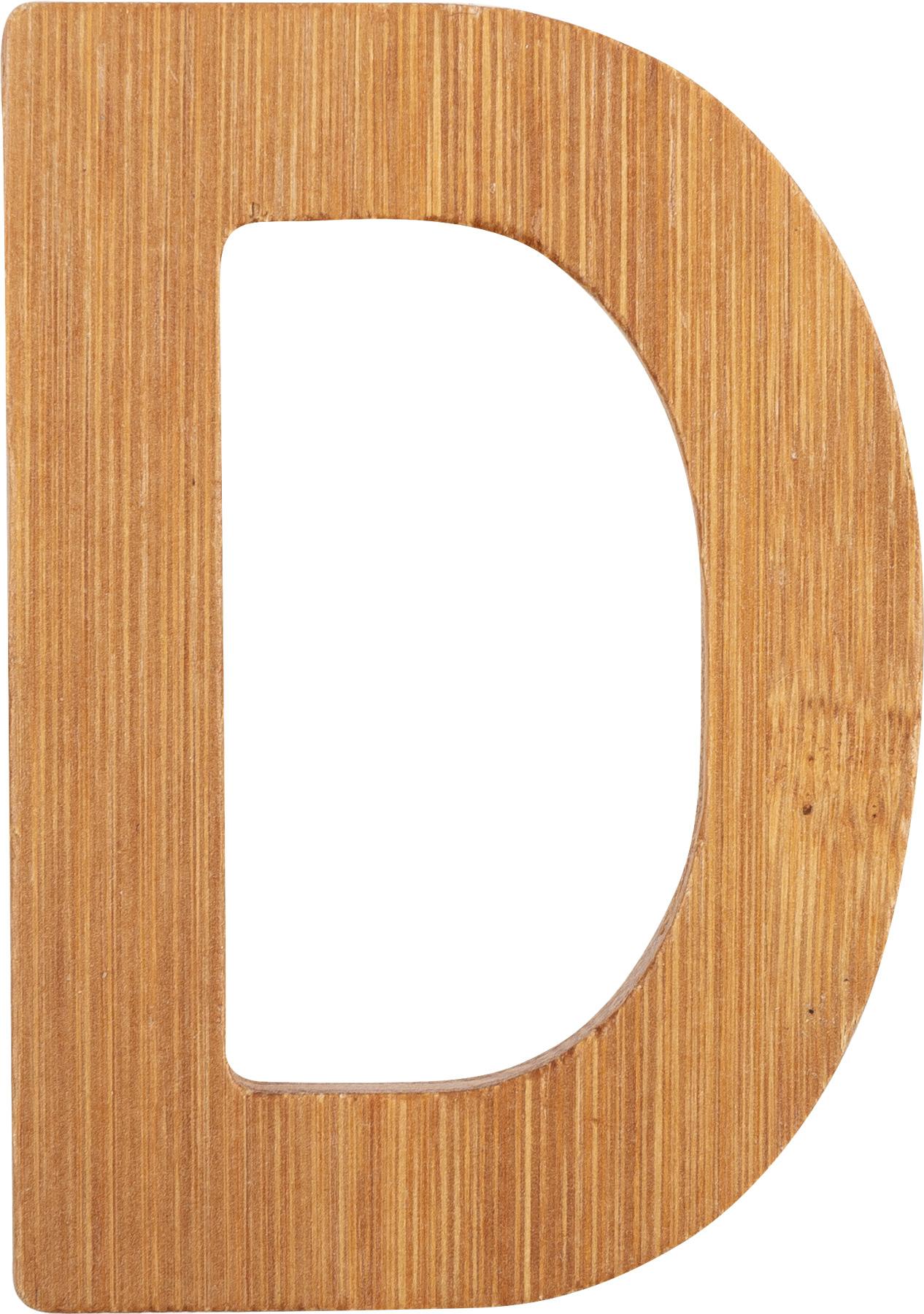 Small Foot Bambusové písmeno D