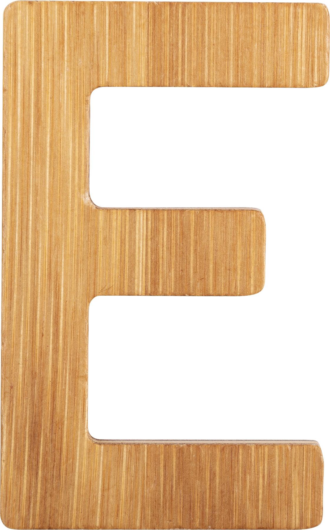 Small Foot Bambusové písmeno E