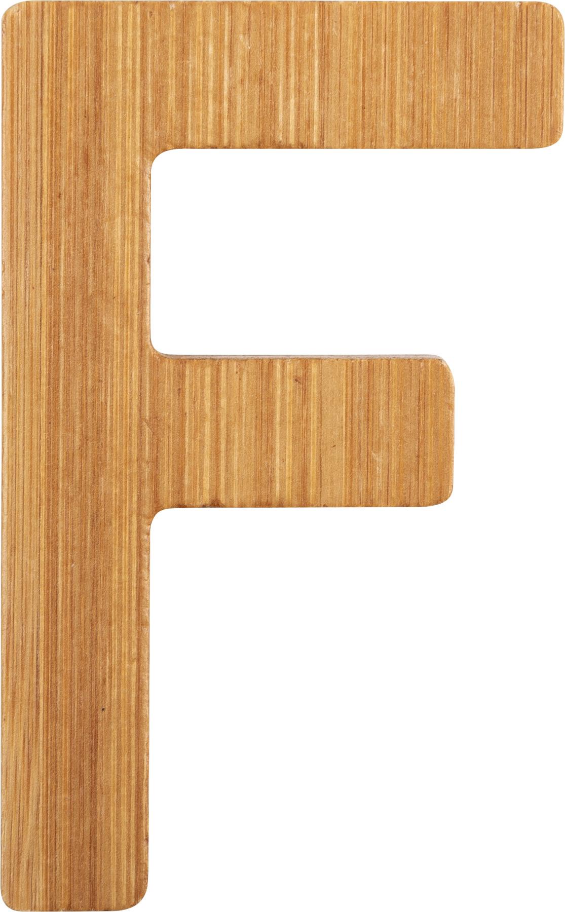 Small Foot Bambusové písmeno F