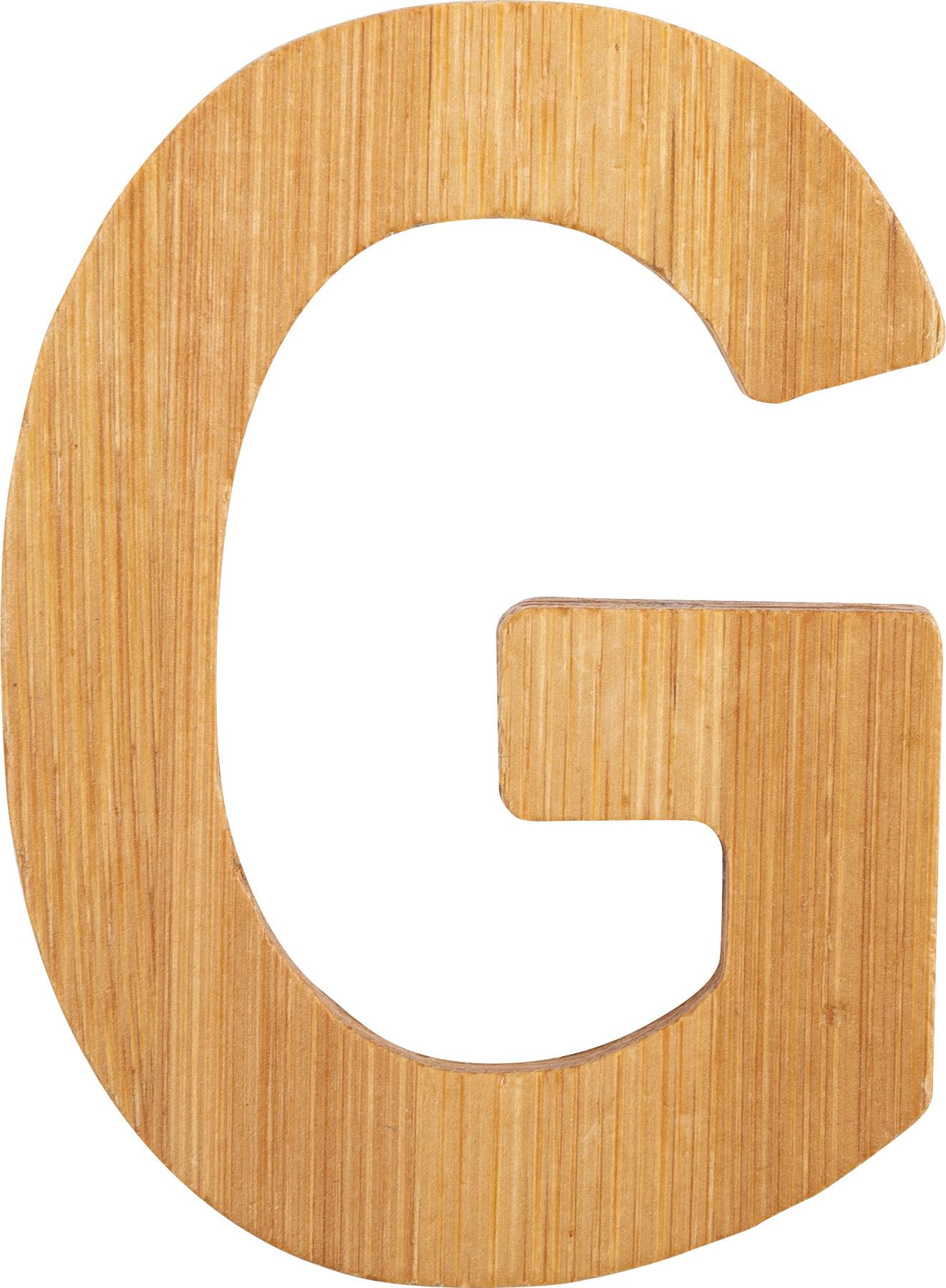 Small Foot Bambusové písmeno G