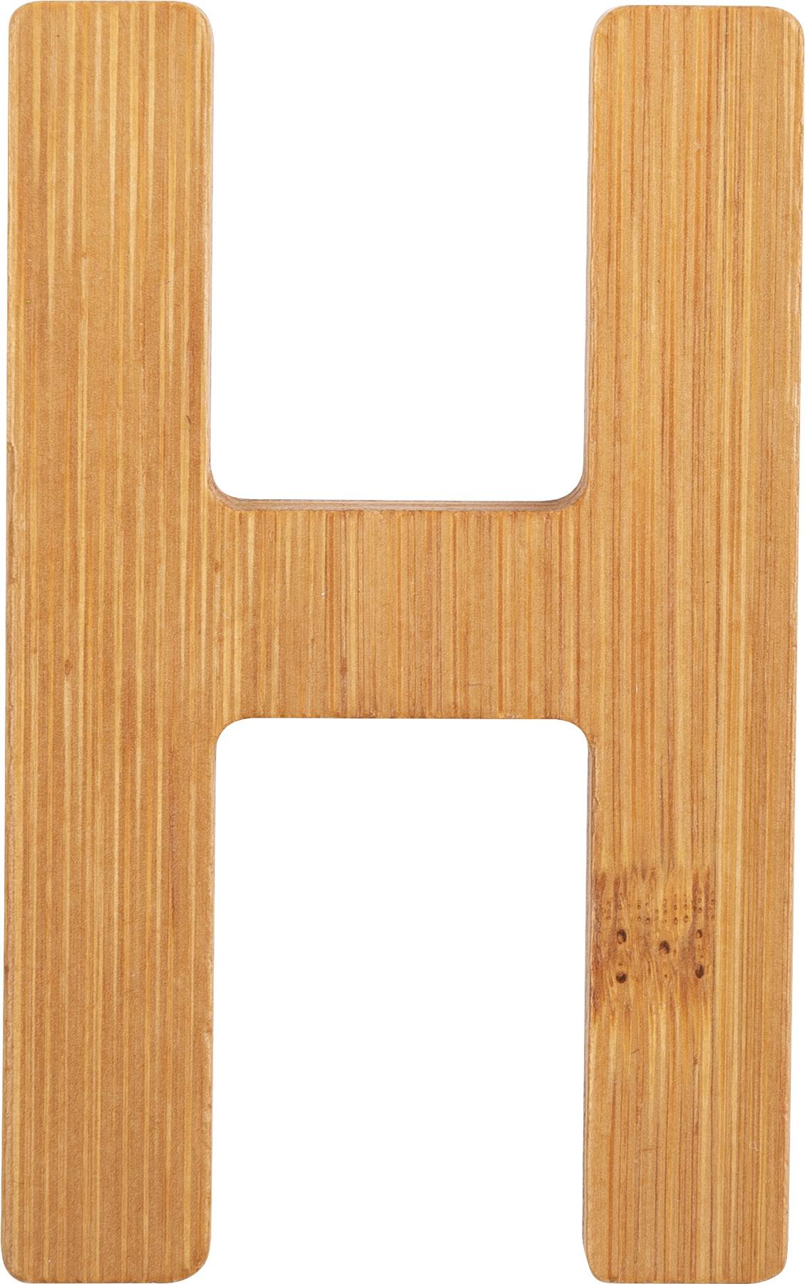Small Foot Bambusové písmeno H