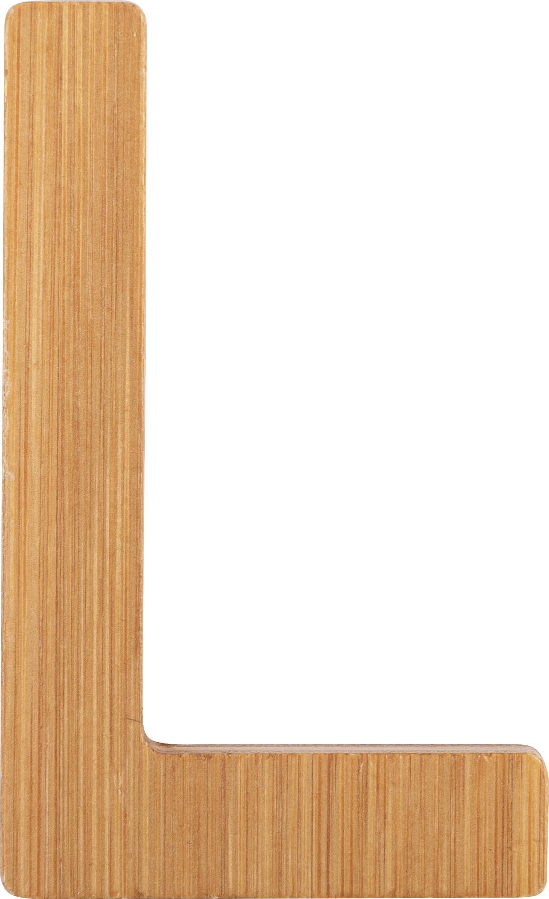 Small Foot Bambusové písmeno L