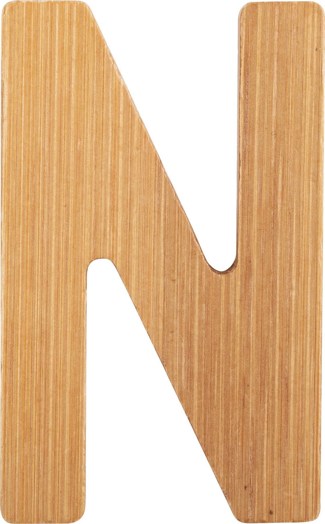 Small Foot Bambusové písmeno N