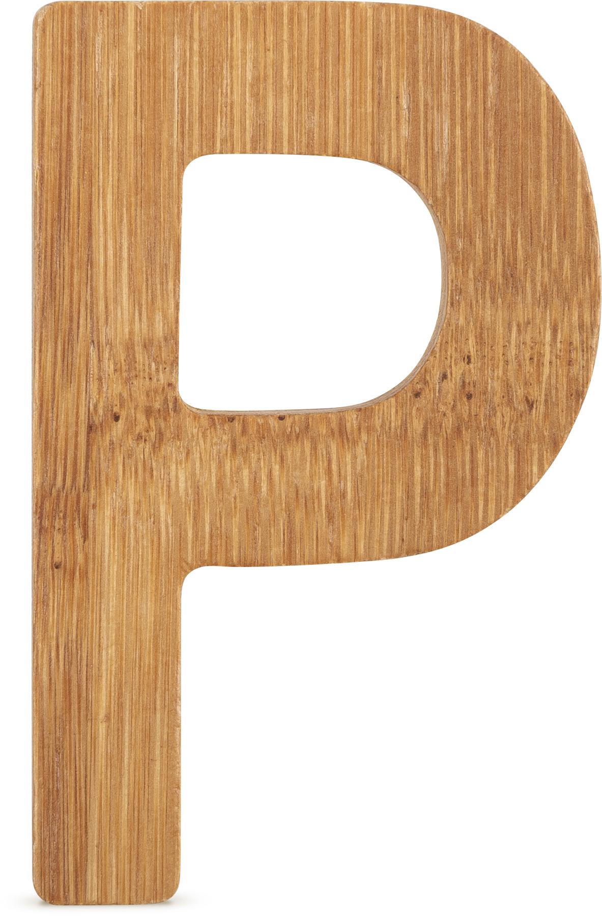 Small Foot Bambusové písmeno P