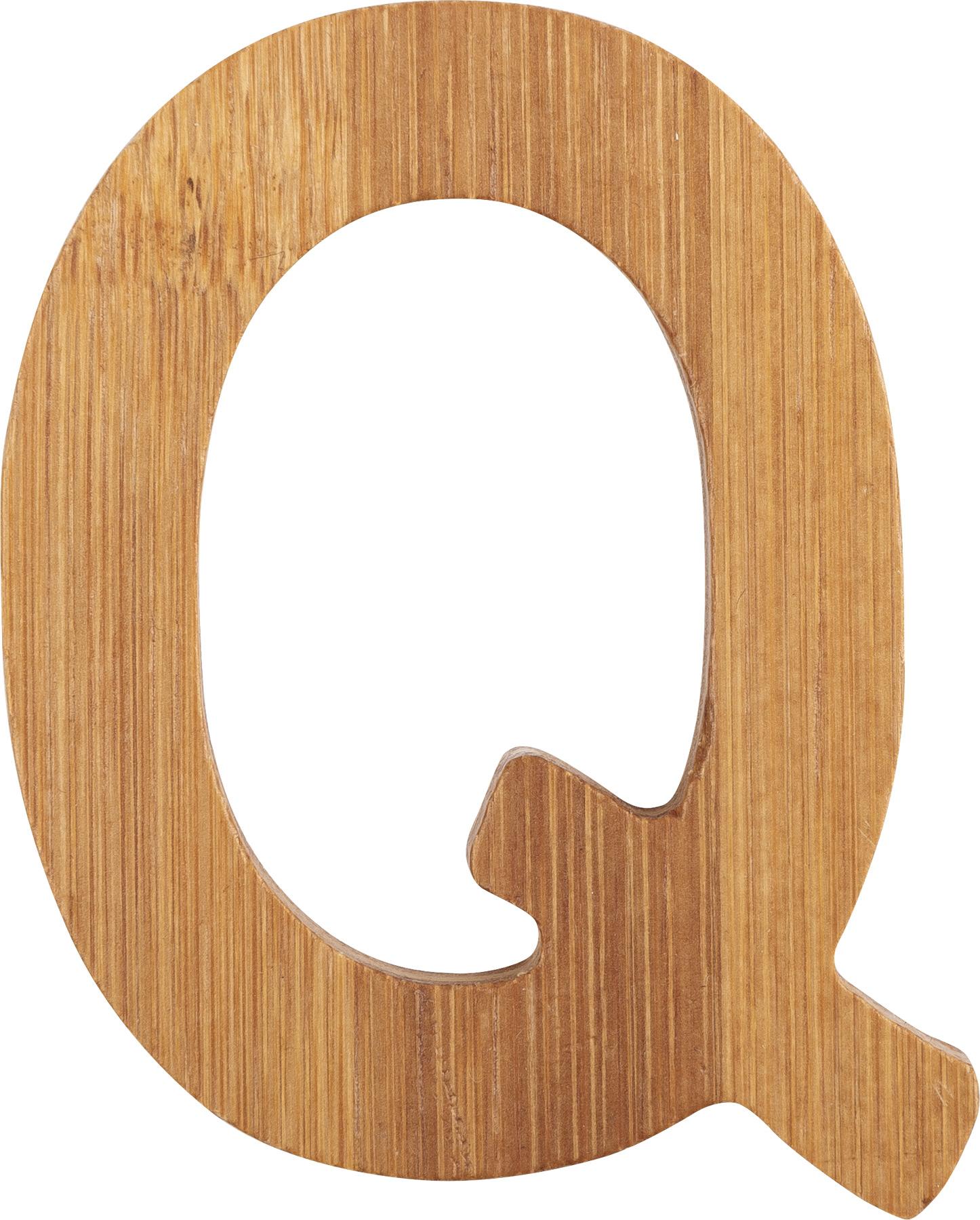Small Foot Bambusové písmeno Q