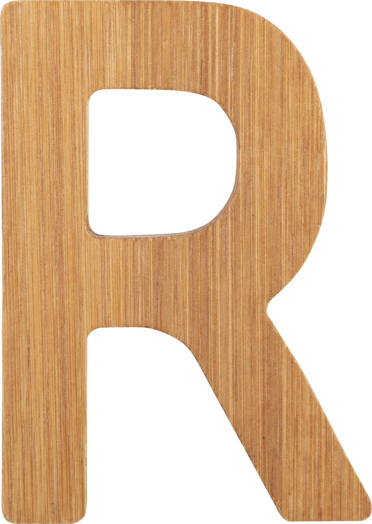 Small Foot Bambusové písmeno R