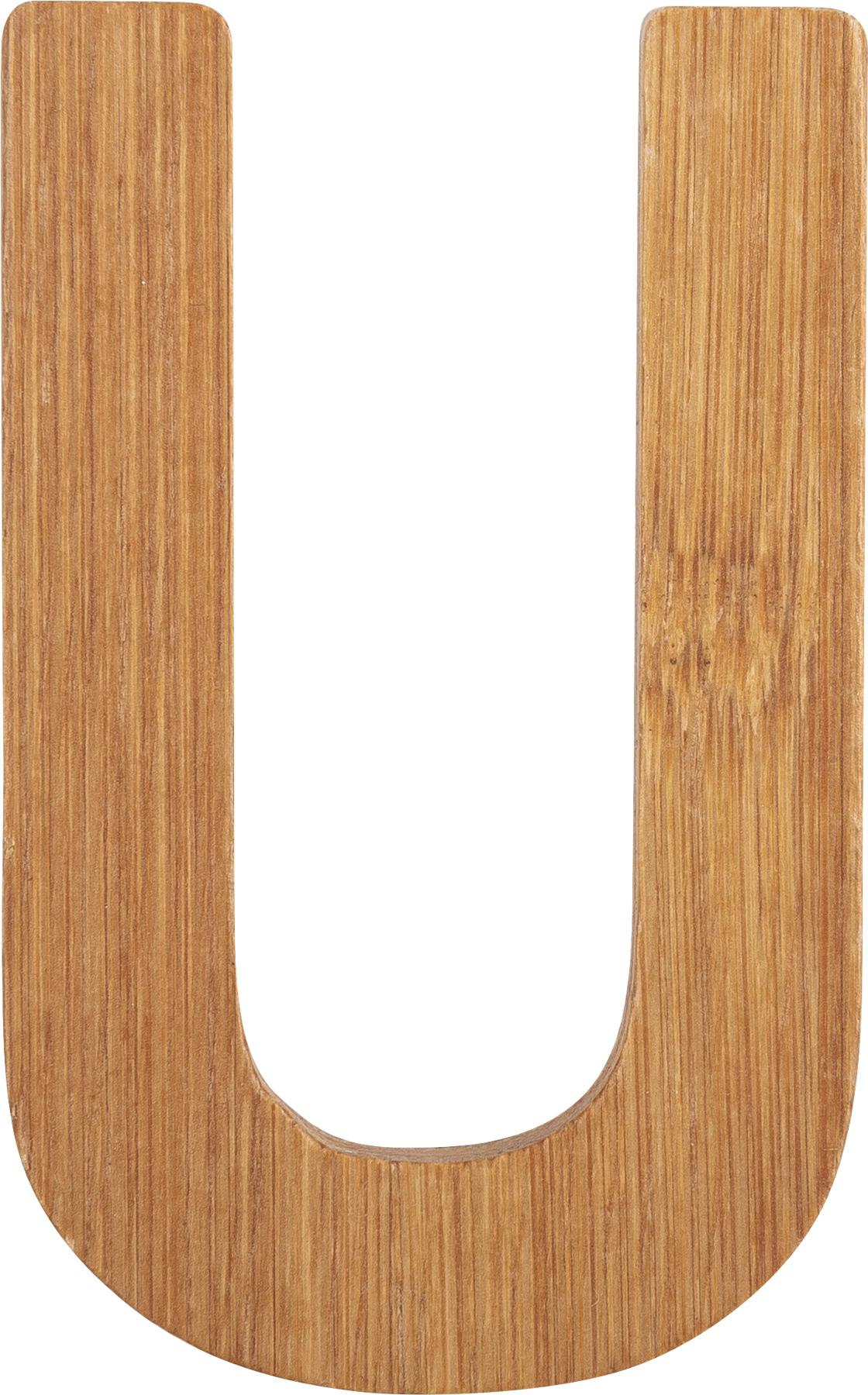 Small Foot Bambusové písmeno U