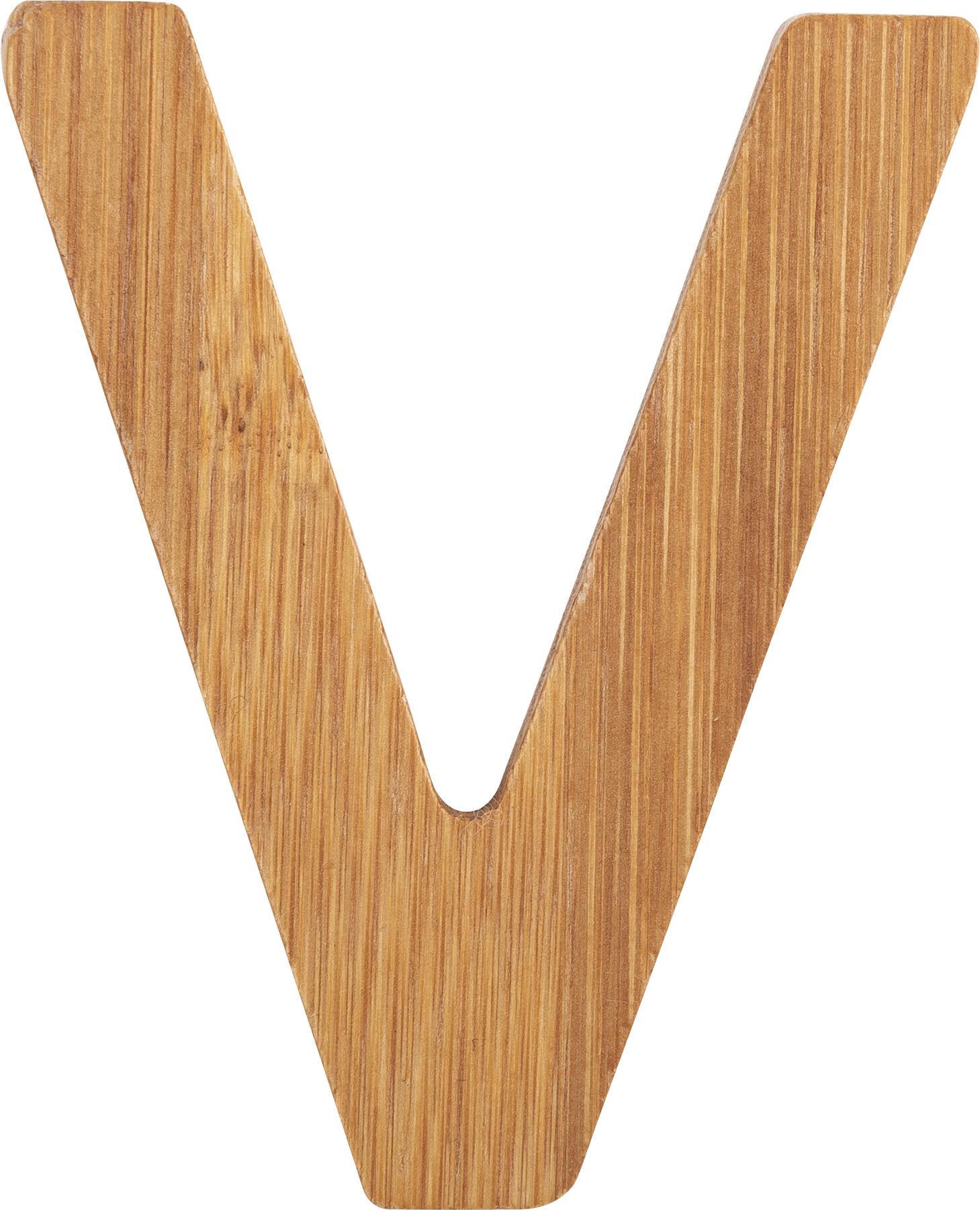 Small Foot Bambusové písmeno V