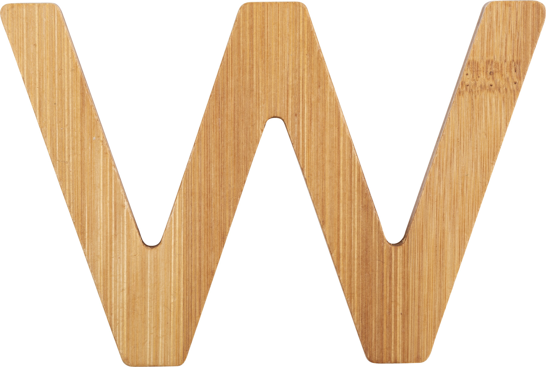 Small Foot Bambusové písmeno W