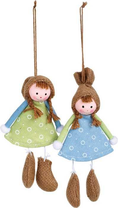 Small Foot Dřevěná dekorace  panenky Ema Set
