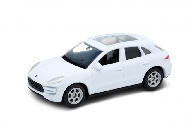 Welly - Porsche Macan Turbo model 1:34 modré