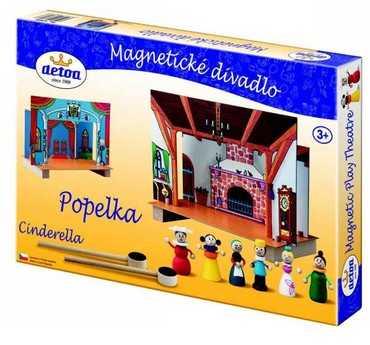 Detoa Dětské divadlo magnetické - Popelka