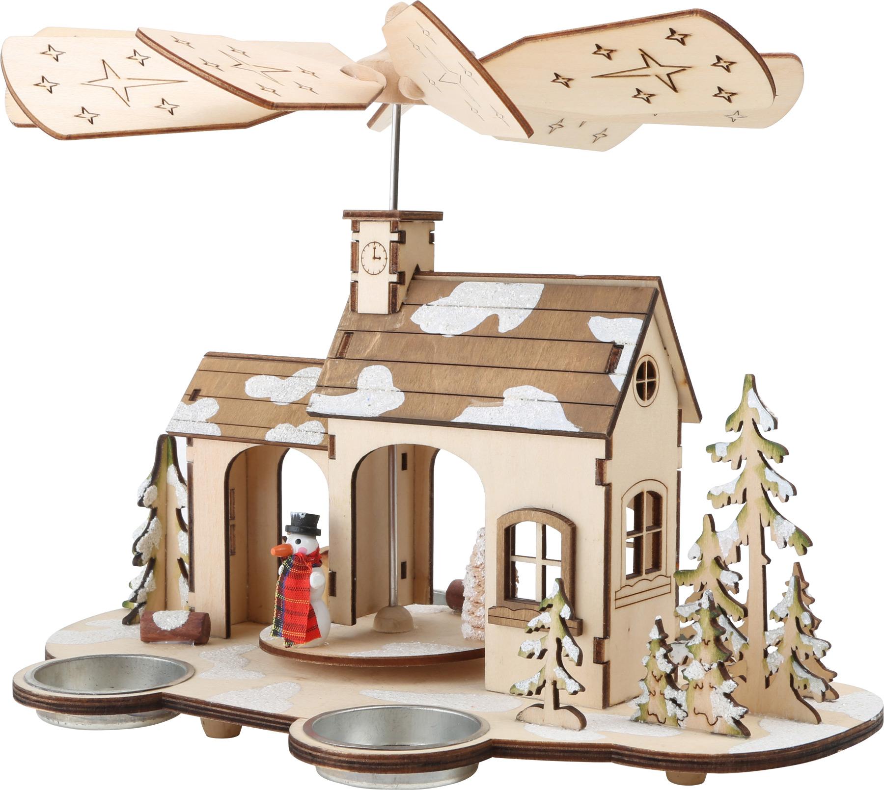 Small Foot Dřevěná vánoční pyramida Advent