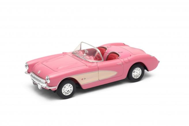 Welly - Chevrolet Corvette ('1957) model 1:34 krémový