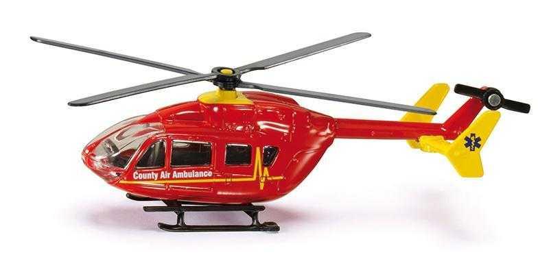 Kovový model - SIKU Blister - taxi vrtulník 1:87
