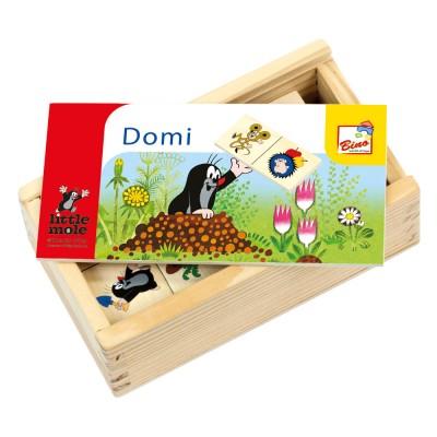 Bino - Krtek přikládačka DOMINO 28ks
