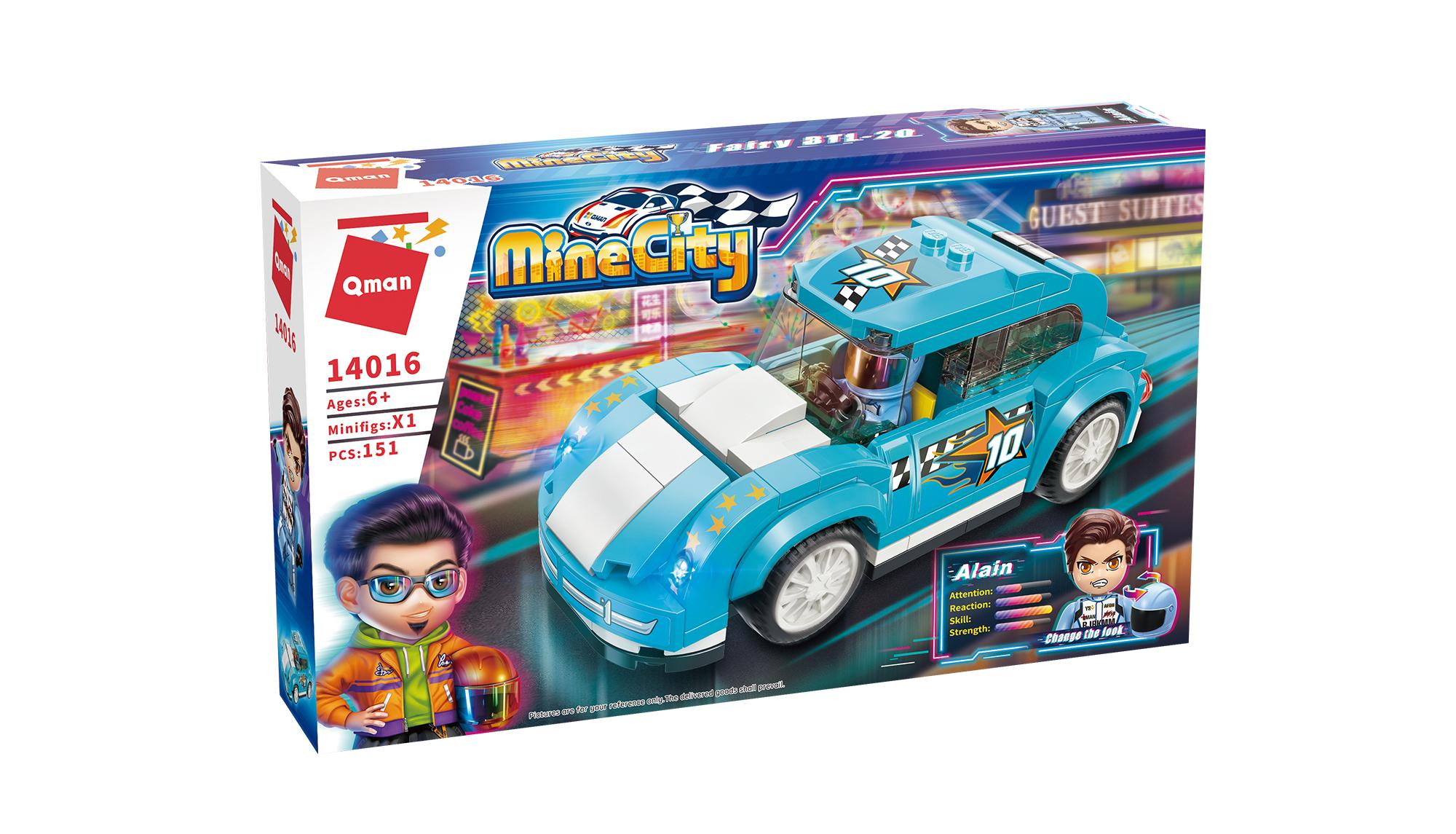 Qman MineCity 14016 Fairy BTL-20