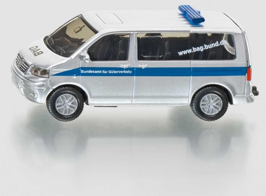 Kovový model auta - SIKU Blister - Policejní dodávka