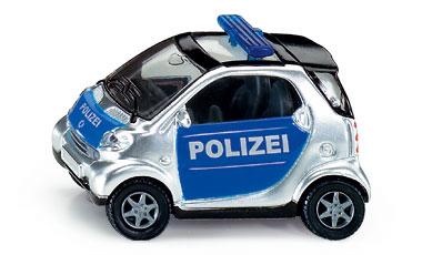 Kovový model auta - SIKU Blister - Policejní smart