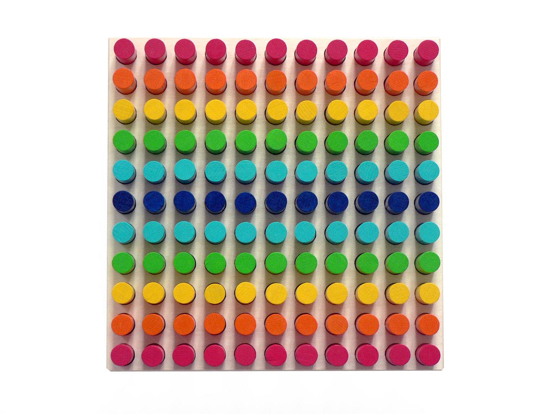Hess Motorická mozaika barevná
