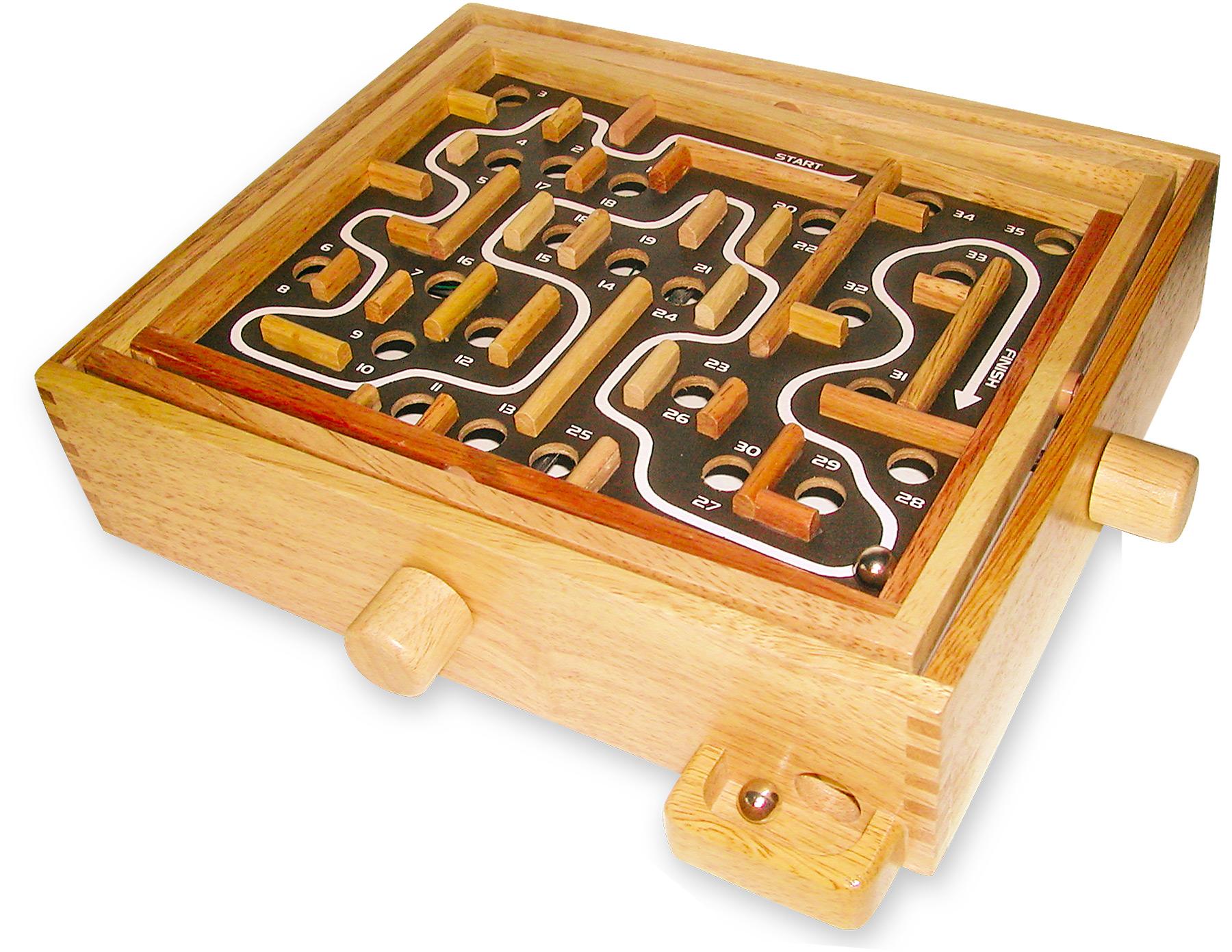 Small Foot Dřevěný labyrint