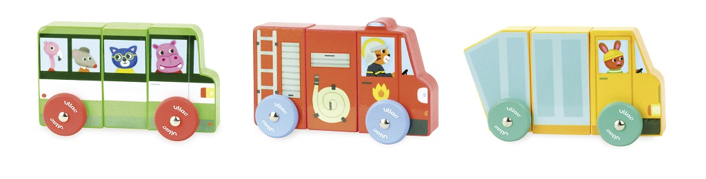Vilac Magnetická nákladní auta