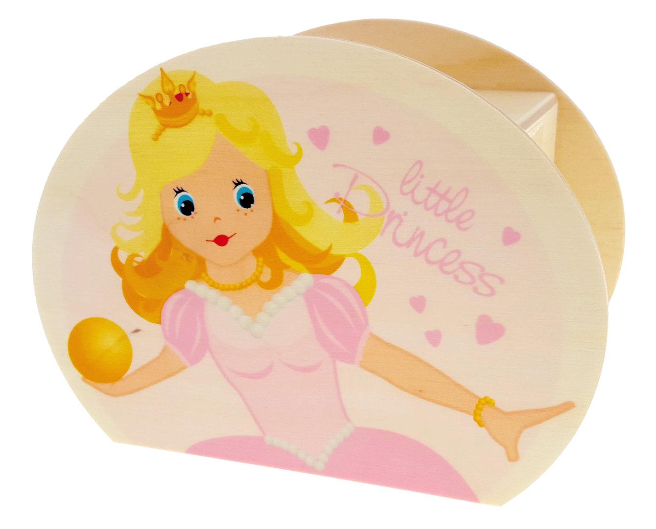 Hess Dřevěná pokladnička princezna