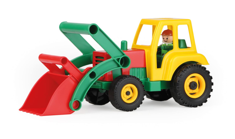 Lena Traktor se lžící