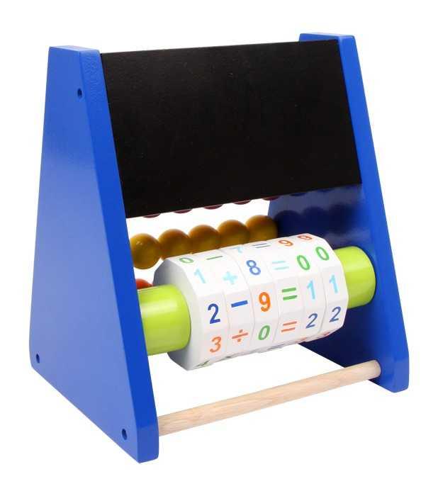 Dřevěné hračky - Školní pomůcky - Počítadlo Triangl