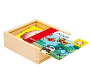 Bino Puzzle barevné Krtek a Panda