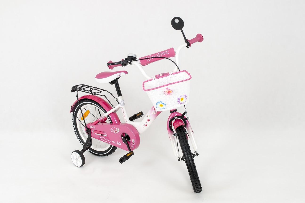 Dětské kolo 1601 Princess - růžové