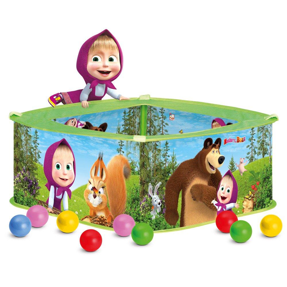 Bino Máša a Medvěd - bazének s balónky