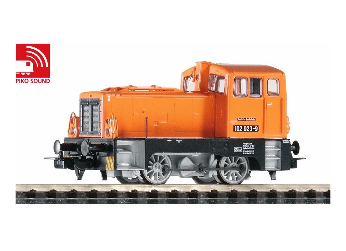 Piko Dieselová lokomotiva BR 102 se zvukovým dekodérem IV - 52544