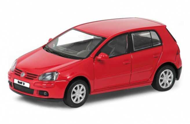 Welly -  VW Golf V 1:34 červený