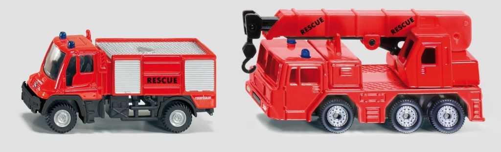 Kovový model auta - SIKU Blister - 2 požární auta