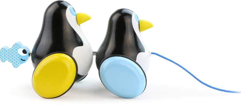 Vilac Tahací tučňáci Hans & Knut
